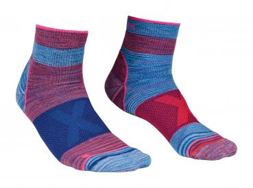ORTOVOX ALPINIST QUARTER SOCKS W hot coral